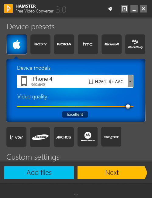 descargar hamster free video converter 1.0 0.43 gratis en espa?ol